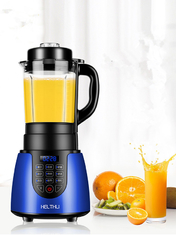 800W Heated Food Processor 1.75L Glass Cup For Make Soup And Stirring Juice