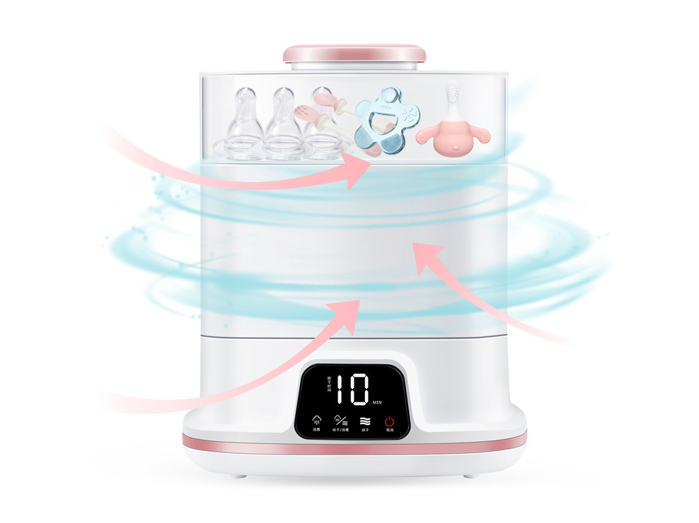 Home Portable Baby Bottle Sterilizer With Dryer Function / Defrost Function