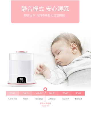 China Multifunction Baby Bottle Electric Steriliser 150W Dry Power 29*24*35.5cm distributor